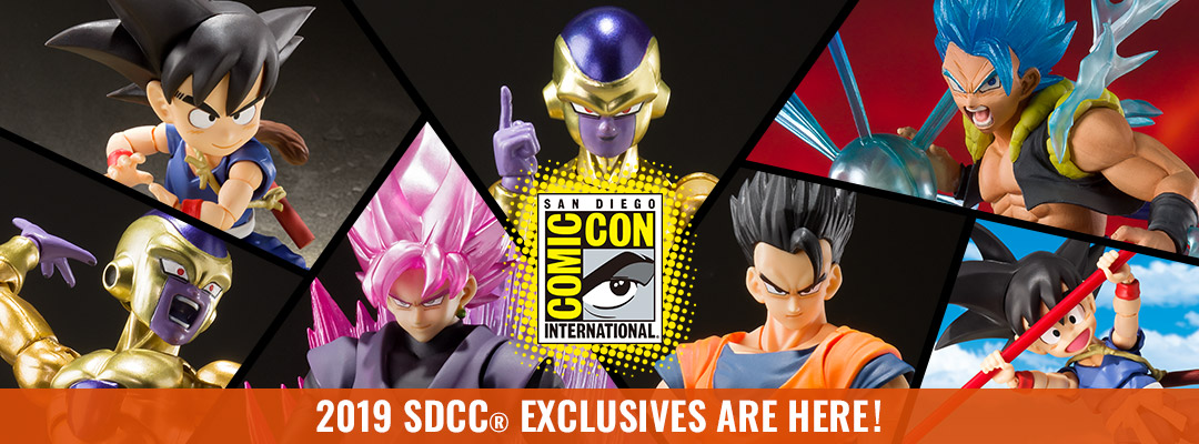 2019 SDCC® EXCLUSIVES ARE HERE!
