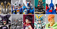 [Tamashii web shop pre-orders] Crossbone Gundam X3, Alphamon and Android No. 16, etc!
