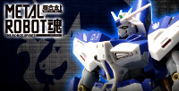 "A fusion of ""texture"" and ""mechanism""! METAL ROBOT Hi-ν Gundam has appeared!"