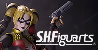 Batman's nemesis, The Joker. And his dangerous lover, Harley Quinn appeared in S.H.Figuarts!