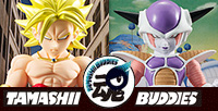 Freeza First Form and Super Saiyan Broly appeared as Tamashii Buddies!
