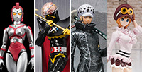 [Tamashii Web Shop] 4 goods pre-orders now start! Koala, Yulian, Gil Hakaider,  Trafalgar Law.