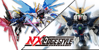 "[NXEDGE STYLE] ""Wing Zero EW Ver."" and ""Strike Freedom VS Destiny Confrontation Set"" appeared one after another!"
