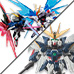 "Special Features [NXEDGE STYLE] ""Wing Zero EW Ver."" and ""Strike Freedom VS Destiny Confrontation Set"" appeared one after another!"