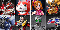 We published new products releasing in February 2015! Check the release date of Jibanyan, Honoka Kosaka, Wizard, etc!