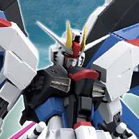 "Special Features [Mobile Suit Gundam SEED] With the best suppleness, ""ROBOT Spirits Freedom Gundam"" appeared!"