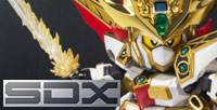 "[Tamashii Web Shop] The 2nd article of ""SDX SANDAIME GUNDAM DAISHOGUN"" arrived! Pay attention to a Battle Mask and a Flash Sword!!"