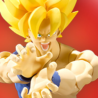 "Special Features Super warrior, awakening. New ""S.H.Figuarts Super Saiyan Gokou"", its movement mechanism and its modeling been renewed, will come!"