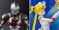 "In July 31st, the new release products such as the long-awaited ""Super Sailor Moon"" and the ""ULTRAMAN"" from the popular comic!"