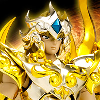 "Special Features [Saint Seiya Soul of Gold] We decided the re-issue of ""Saint Cloth Myth EX Leo Aiolia (God Cloth)"" in December 2015!"