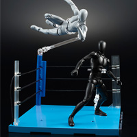 "Special Features Revolution! Full picture of ""ACT. Ring Corner"" which is specialized to Pro-wrestling attacks!"