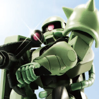 "Special Features [ROBOT Spirits ver. A.N.I.M.E.] ""ZAKU Mass Production Type"", the flagship mobile suit of the Principality of Zeon, has appeared to the ROBOT Spirits!"