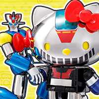 Special Features [Chogokin] A dream collaboration between Mazinger Z and Hello Kitty! And now our Advertising Slogan Championship has started!