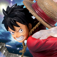 "Special Features We decided to release the product which makes realize the Luffy's deathblow ""Gomu Gomu no Hawk Whip""!"