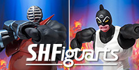 """Kinnikuman Great"" and ""Big the Budo"" are now up for pre-order at the Tamashii Web Shop Japan!"