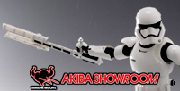 """S.H.Figuarts First Order Storm Trooper (Shield and Baton set)"" sample review!"