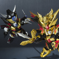 "Special Features New ""SDX"" and ""Ganso SD Gundam World"" products were published at once!"