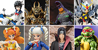 13 items such as Orin Garo, Zero Drive and Onsa Amano are up for pre-order in Tamashii Web Shop!