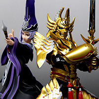 "Special Features [S.H.Figuarts Staff Blog] Golden ""Raikou Armor"" has appeared to S.H.Figuarts!"