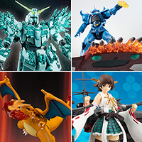 TOPICS Hiei Kai II, Charizard, Mega Man, etc. 8 items are up for pre-order in the Tamashii Web Shop!