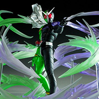Special Features [S.H.Figuarts スタッフブログ] 「魂EFFECT WIND」レビュー & 仮面ライダーW 最新情報!