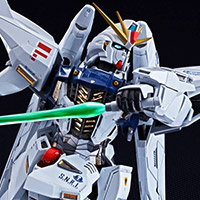 Special Features 「METAL BUILD ガンダムF91」特設ページにて、ディテール&ギミックを全公開!イメージムービーも公開!!