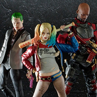 "Special site dead shot start accepting orders! Gather in SHFiguarts review the ""Suicide Squad"" three villains"
