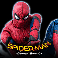 "Special site [MARVEL] Spiderman appears in SHFiguarts from ""Spider-Man: Homecoming""!"