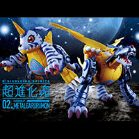 "Special Site [Super Evolutionary Spirit] 2nd ""Metal Garurumon"" Decided to be released in January 2018! Special site update!"