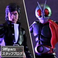 Special Features 真骨彫製法と魂のデジタル彩色で、変身!12/16発売 S.H.Figuarts 「仮面ライダー新1号」「本郷猛」レビュー