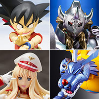 TOPICS [general shop front January 19 · 20 release] Son Goku - boys period -, a total of 4 items including metal garurumon are released newly!