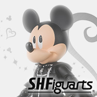 "Special site ""SHFiguarts King Mickey"" 1/26 new release! Check ""KINGDOM HEARTS"" series lineup on special page ♪"