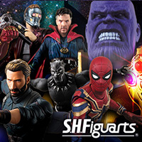 "Special site SHFiguarts ""Avengers / Infinity War"" special page released! Lineup Open to the public!"