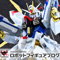 Special Features 自由の翼、3/24店頭発売!「METAL ROBOT魂 <SIDE MS> ストライクフリーダムガンダム」レビュー