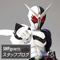 Special Site [S.H.Figuarts Staff Blog] 【SHF Nichiasa Blog】 Shinkocchou From the Manufacture, Masked Rider W Series New Items Appear!