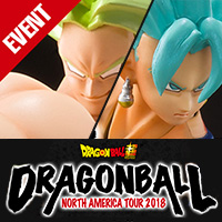イベント DRAGONBALL NORTH AMERICA TOUR 2018 official website updated! Check out for more information!