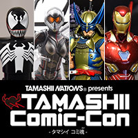 "Column ""TAMASHII Comic-Con - Tama Machi Comi Soul (Con) - After Report [MARVEL Hero]"