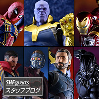 "Special Site [S.H.Figuarts Staff Blog] Lineup Total Summary! ""Avengers / Infinity War"" series"