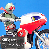 "Special Site [S.H.Figuarts Staff Blog] Now on sale! ""S.H.Figuarts New Cyclone issue"" product review! !"