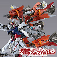 "TOPICS [TAMASHII web shop] ""METAL BUILD Gun barrel striker"" The whole picture is released on the order entry page! Order start on August 10!"