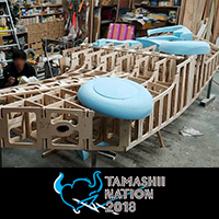 "Event Soul Nation 2018 Update exhibition information of Akihabara UDX venue! About 1/1 model of ""Hayabusi type"" is being produced from ""Kotobuki Squadron in the Wilderness""!"