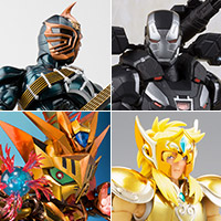 TOPICS [TAMASHII web shop] War Machine Mark 4, Masked Rider Intense and 4 items start ordering from 16 o'clock on Friday, October 19!
