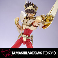 TAMASHII NATIONS TOKYO 限定アイテム、ペガサス星矢(新生青銅聖衣) GOLDEN LIMITED EDITION レビュー!