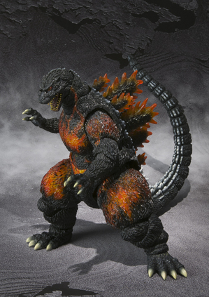 S.H.MonsterArts ゴジラ(1995) 08