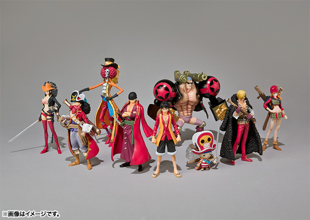 Chozokei Damashii ONE PIECE Series 劇場版「ONE PIECE FILM Z」-決戦用戦闘服- 01