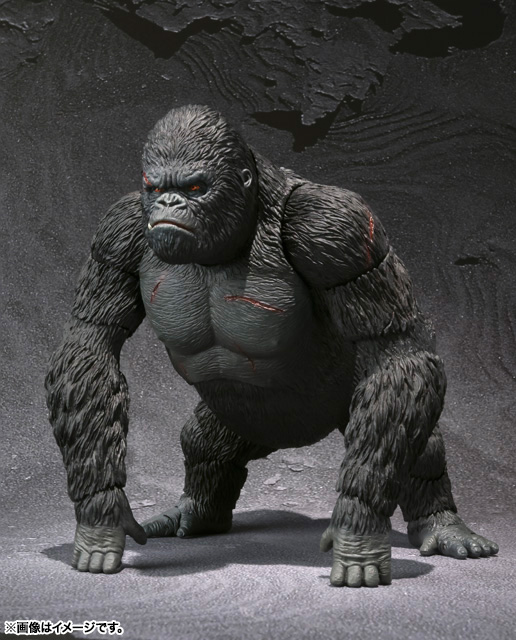 S.H.MonsterArts KING KONG The 8th Wonder of the World 01
