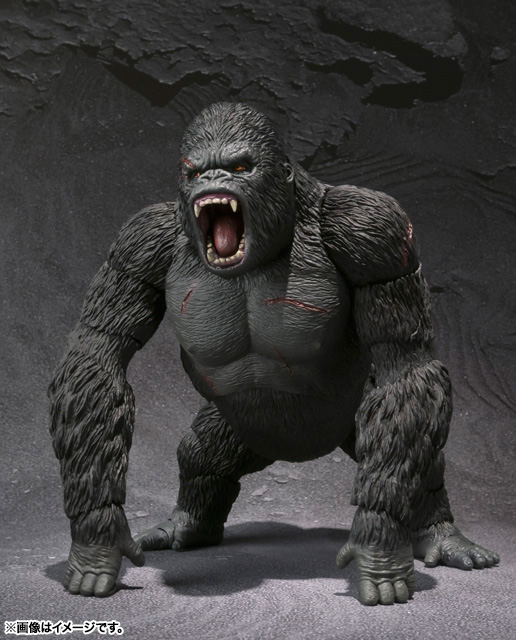 S.H.MonsterArts KING KONG The 8th Wonder of the World 03