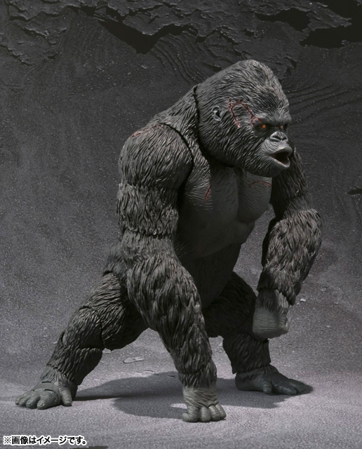 S.H.MonsterArts KING KONG The 8th Wonder of the World 04