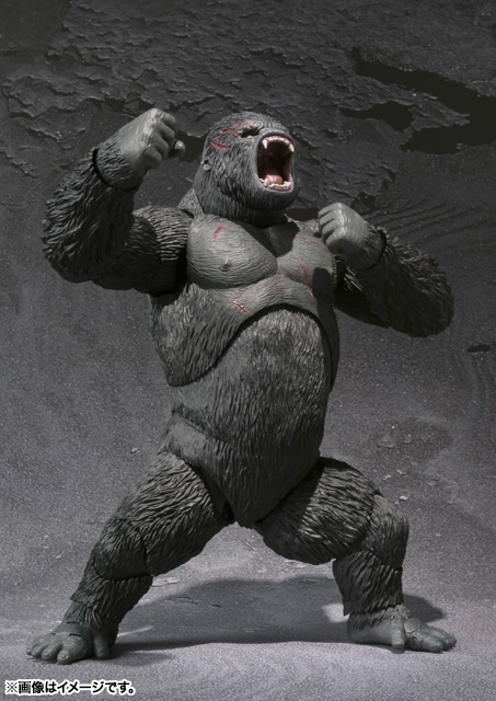 S.H.MonsterArts KING KONG The 8th Wonder of the World 05