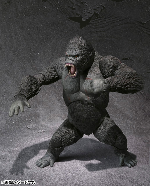 S.H.MonsterArts KING KONG The 8th Wonder of the World 06